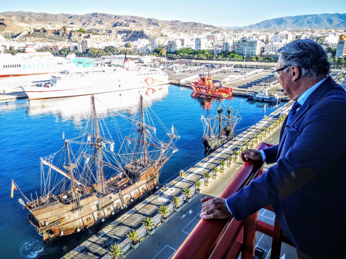 Victoria - réplica - puerto Almería