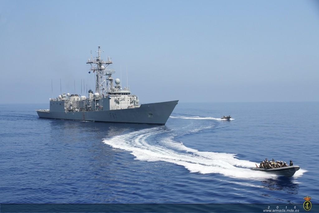 fragata-santa-maria-armada-española