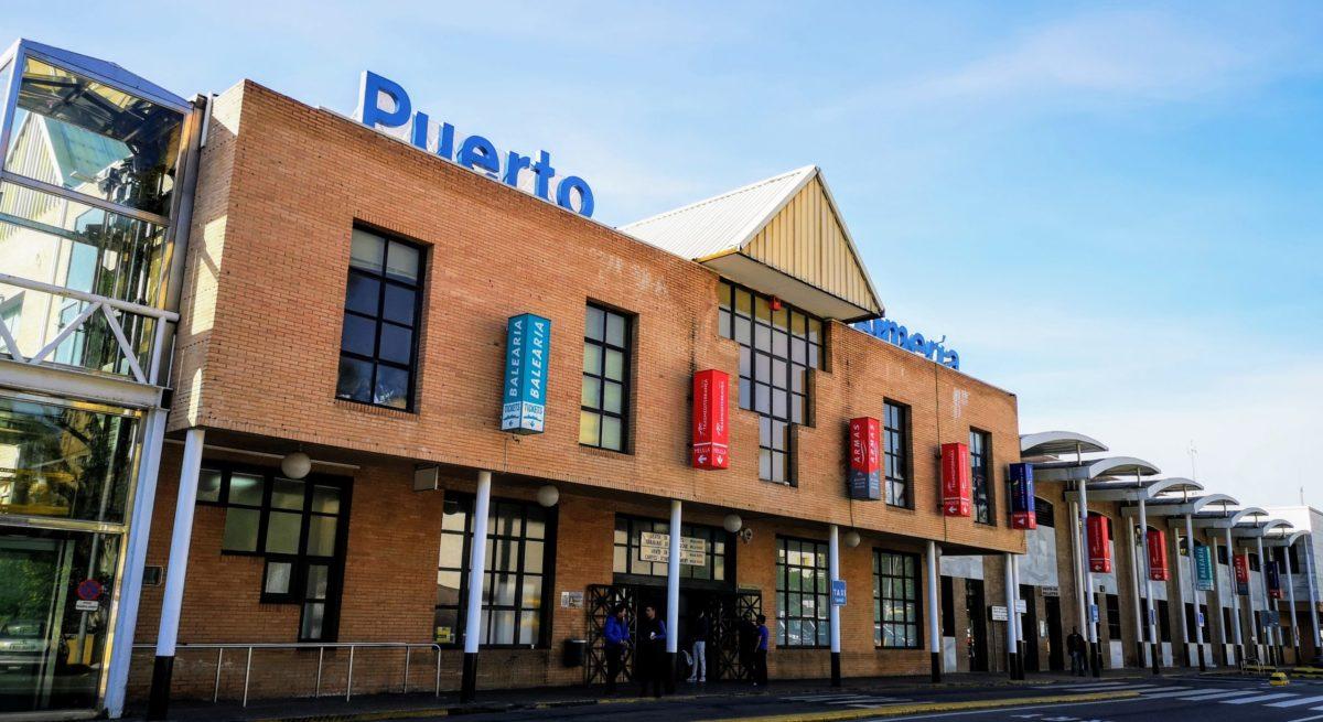 Estación marítima - puerto Almería