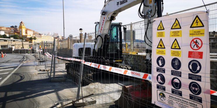 En marcha las obras de ampliación de los accesos al Puerto por Pescadería