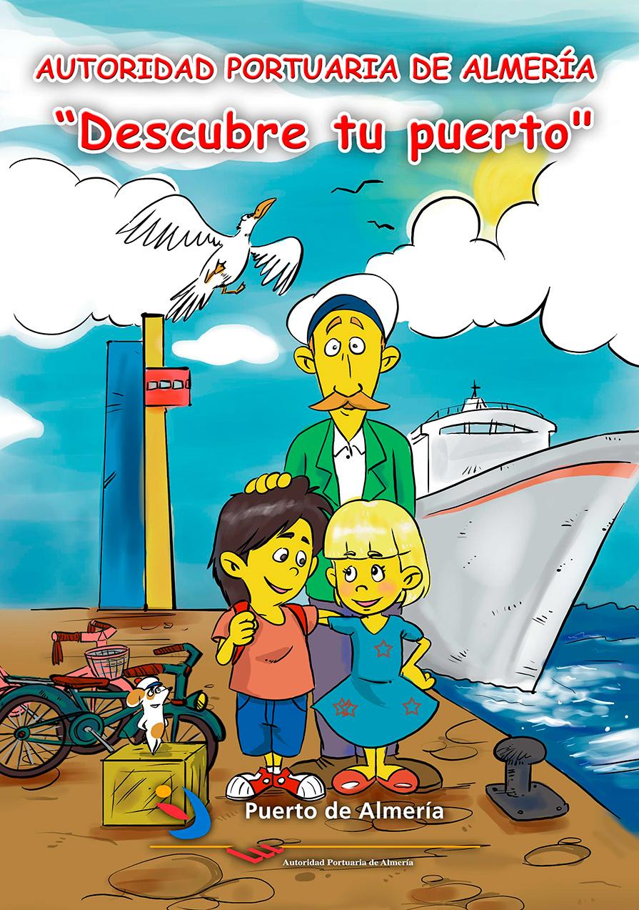 El peque puerto - puerto Almería - cómic