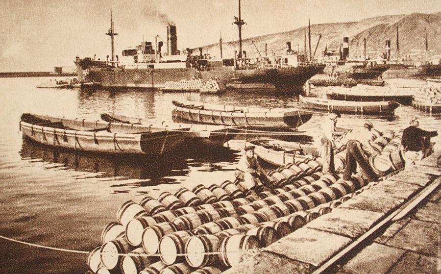 Historia puerto Almería