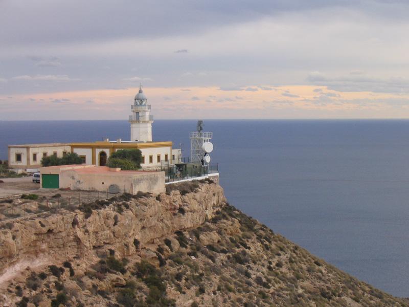faro de Mesa Roldán - Parque Natural Cabo de Gata-Níjar - Almería