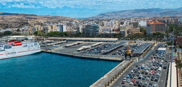 Parking Levante - puerto Almería