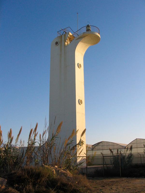 faro de Punta de Baños - Almería