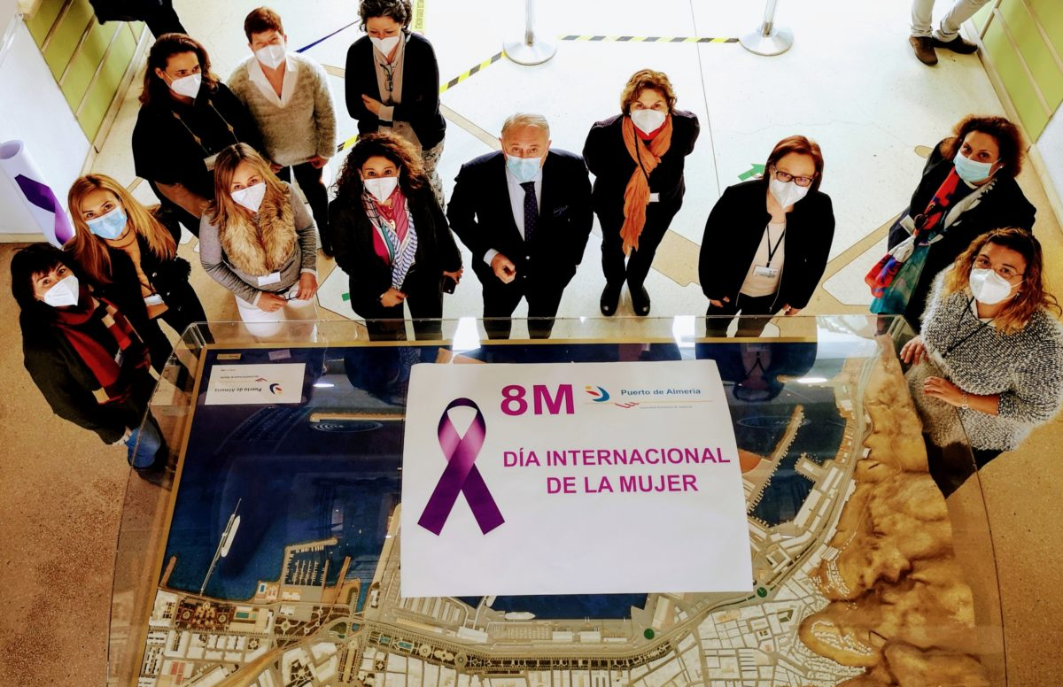 La Autoridad Portuaria homenajea a sus trabajadoras en el 8M