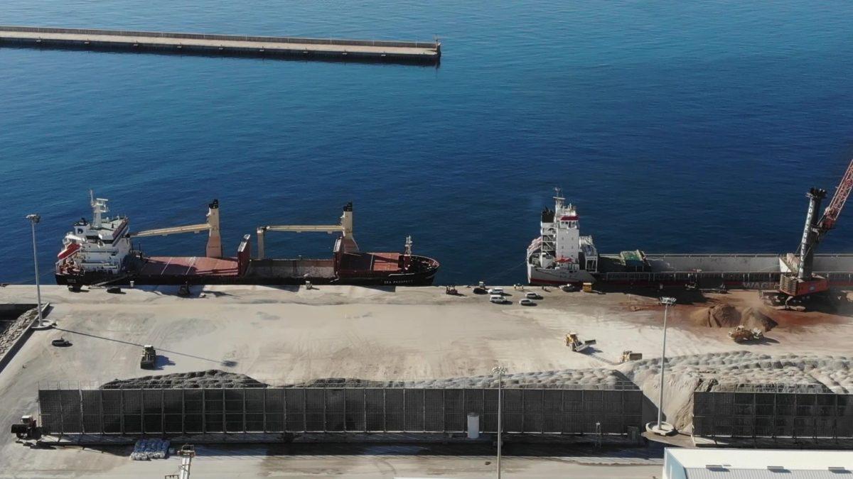 El Puerto de Carboneras tendrá un sistema de drenaje para evitar el vertido de aguas al mar