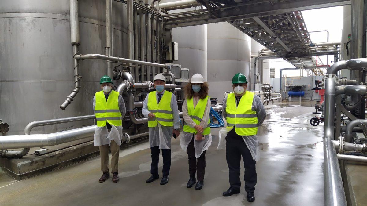 El presidente de la APA visita en Carboneras las instalaciones de FJ Sánchez Sucesores
