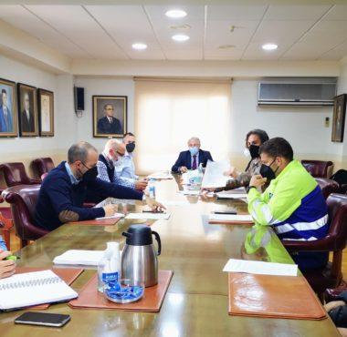 Reunión del presidente de la APA con el nuevo comité de empresa