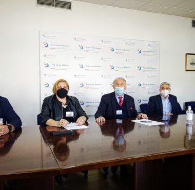 Firma del convenio entre la APA y Asopesca para la gestión de los desechos de los barcos de pesca