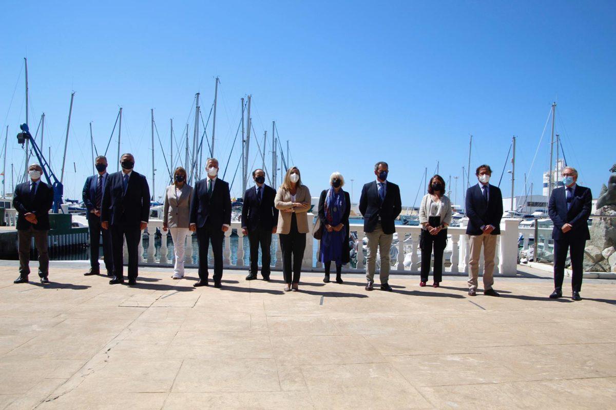 El presidente de la APA asiste a la firma del acuerdo de colaboración entre Sucncruise y Puertos de Andalucía