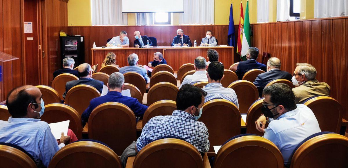 Reunión del patronato de la Fundación Bahía Almeriport
