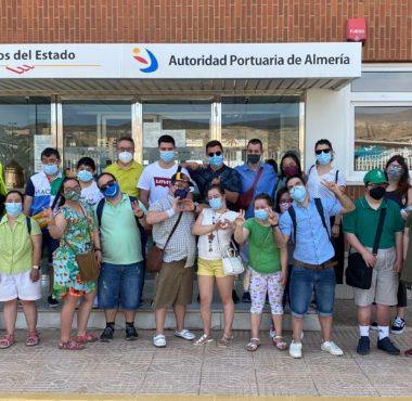 La Asociación Almeriense para el Síndrome de Down, en el Puerto
