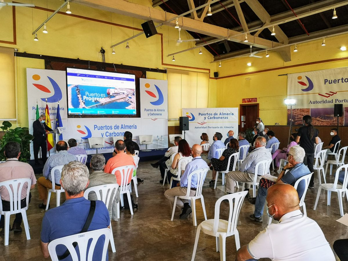 Jornada del proyecto Creasi-PAC, de la Autoridad Portuaria de Almería