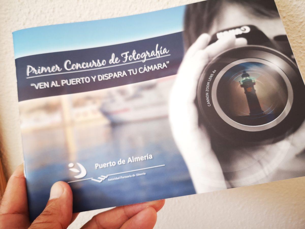 Portada del Cuaderno del Primer Concurso de Fotografía Puerto de Almería