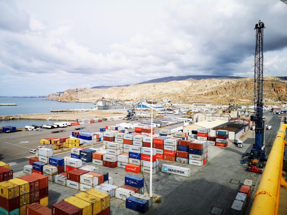 Terminal de Contenedores del Puerto de Almería