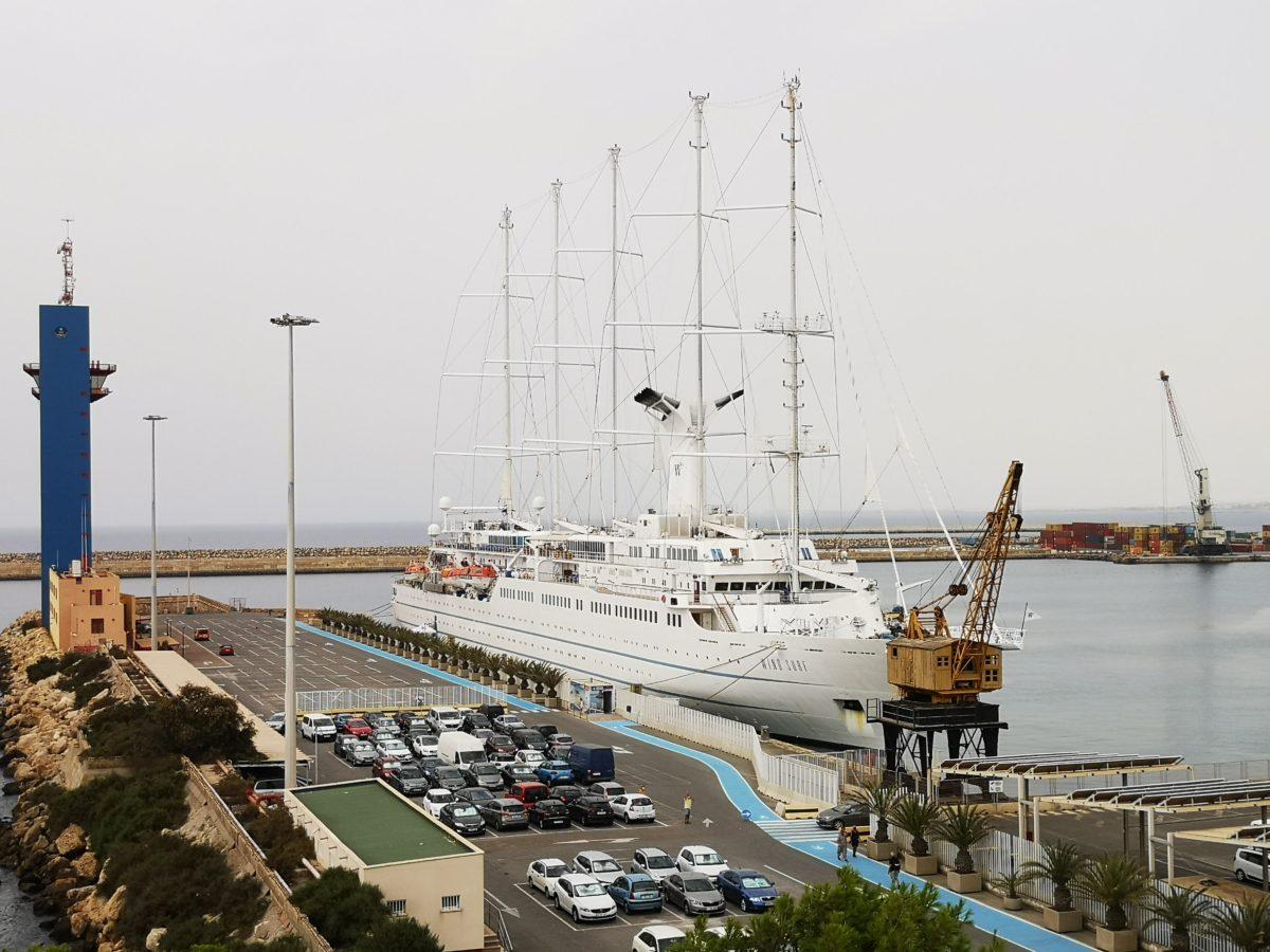 Crucero Wind Surf, el pasado 11 de agosto en el Muelle de Levante